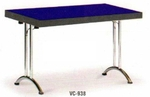 Vishal VC-938 Color Blue With Black Cafeteria Chair