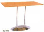Vishal VC-940 Color Wood Cafeteria Chair