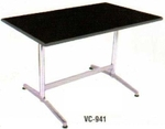 Vishal VC-941 Color Black Cafeteria Chair