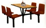 Vishal VC-946 Color Brown Cafeteria Chair