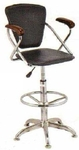 Vishal VC-949 Color Black Cafeteria Chair