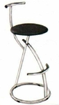 Vishal VC-952 Color Black Cafeteria Chair