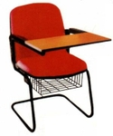 Vishal VC-1101 Color Red Writing Chair