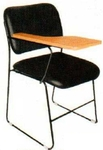Vishal VC-1104 Color Black Writing Chair