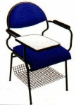 Vishal VC-1105 Color Blue Writing Chair