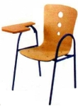 Vishal VC-1107 Color Wood Writing Chair