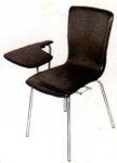 Vishal VC-1108 Color Black Writing Chair