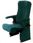 Vishal VC-1405 Color Green With Black Auditorium Chair