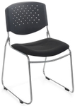 Nilkamal Fabric Sheet Office Chair With Cushion Back Black Contract 03