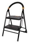 Utility 2 Step Black Ladder