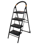 Utility 4 Step Black Ladder