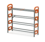 Nilkamal Redley 4 Layer Shoe Rack (FLSRREDLY4NHISRORG)