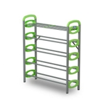 Nilkamal Redley 5 Layer Shoe Rack (FLSRREDLY5NHISRGRN)