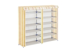 Nilkamal Vertex Double Row Shoe Rack