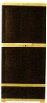 Vishal VC-1618 Color Balck With Yellow Storage Cupboard