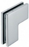 Hafele 981.00.061 SS Polished Top Pivot Patch Fitting