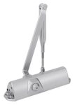 DORMA TS 68 Rack & Pinion Door Closer Finish Silver, Without Hold Open