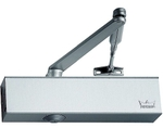 DORMA TS 72 Rack & Pinion Door Closer Finish Silver, With Hold Open