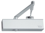 DORMA TS 71 Rack & Pinion Door Closer Finish Silver, With Hold Open