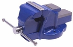 Goodyear Cast Iron 4 Inch Fixed Base Bench Vice GY10417