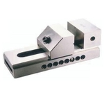 NTC/Equivalent NPV-75(En-31) Grinding Vice- Pin Type (Jaw Depth - 35, Overall Length - 185)