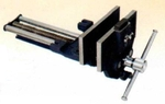 Aries 514 QR 7 Inch Wood Workers Vice Quick Release With Front Dog