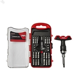 SKIL T Handle Screwdriver Set 28 Pieces Red And Black