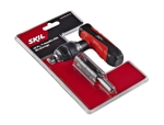 SKIL T Handle Screwdriver Set 10 Pieces Red And Black