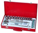 IB Roll J19TM 25 Pcs. Drive Socket Set