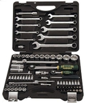 Force 4821 Socket And Wrench Sets Tool Kit 82 Pcs Size 1/4 & 1/2 Inch