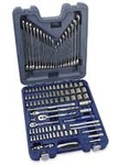 Blue Point 1/4 Inch And 3/8 Inch Drive Socket & Wrench Set 100 Pcs. BLPGSSC100