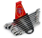 ATTRICO 8 Pcs. Open Spanner Set 250 Gm AOT-8