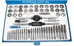 Monork 40 Pieces Metric Tap And Die Tool Set - MI019
