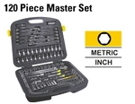 Stanley 120 Pcs. Master Set Mechanic Tool Kit 91-931