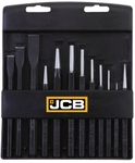 JCB 22026449 Punch & Chisel Set (12 Pieces)