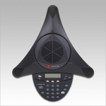 Polycom Acoustic Clarity Full Duplex Analog Conference Phone