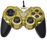 Quantum QHM7487-2V Yellow USB Gamepad