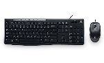 Logitech USB Keyboard Black - MK200