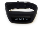 8 Locations Life Plus Black Fitness Tracker Band