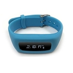 8 Locations Life Plus Blue Fitness Tracker Band