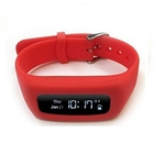 8 Locations Life Plus Red Fitness Tracker Band
