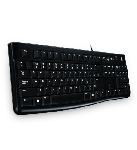 Logitech USB Keyboard Black - K120