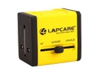 Lapcare LOADYL5135 World Travel Adapter With Dual USB (Yellow)