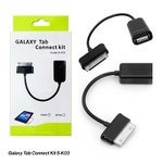 Swastik 5cm OTG Cable For Samsung Tab (Black)