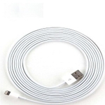 Swastik 1 Meter Iphone 5 Data Cable (White)