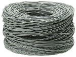 RS Pro Grey Multicore Cat5e Ethernet Cable
