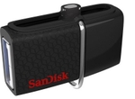 Sandisk Ultra Dual 16 GB On-The-Go Pendrive 0.01 Kg (Black)