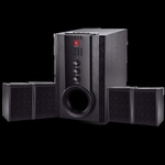 IBall Wired Multimedia Speaker With Remote Wooden - Tarang 4.1