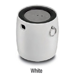 IBall Wired Bluetooth Speaker Mic White - LIL BOMB70