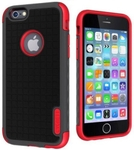 Cygnett WorkMate Case For IPhone 6 Gray/Red - CY1668CPWOR